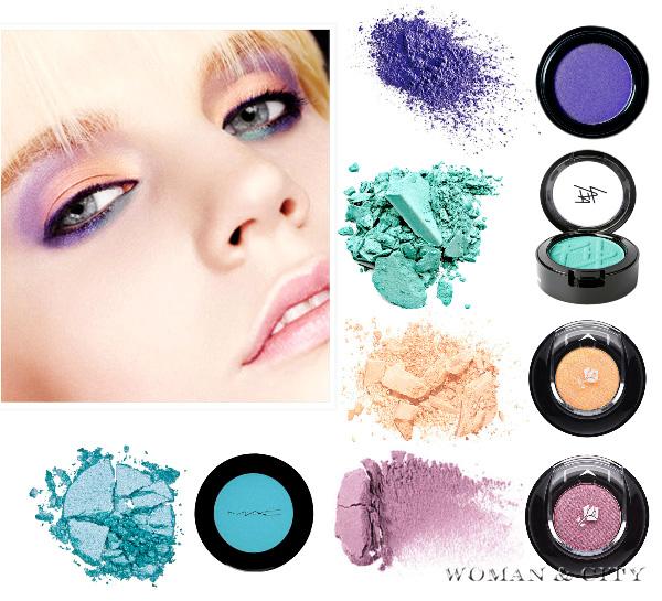 тіні для макіяж 2012