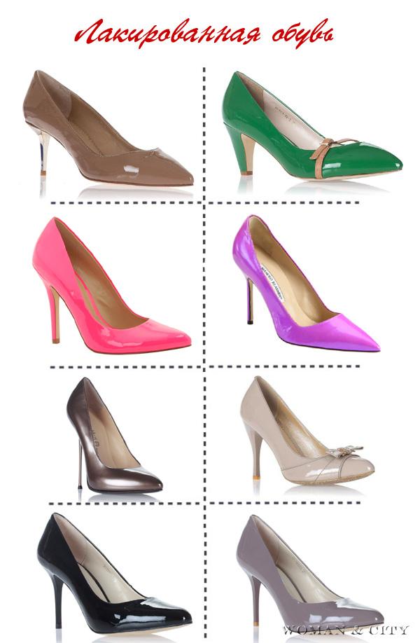 лакированная обувь
