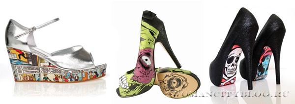комикс обувь