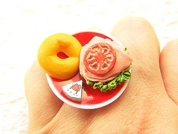 Kawaii Floating Food Rings