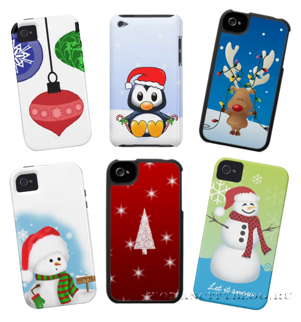 Christmas iPhone