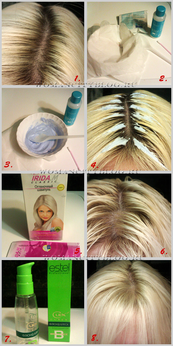 Пудра для корней волос