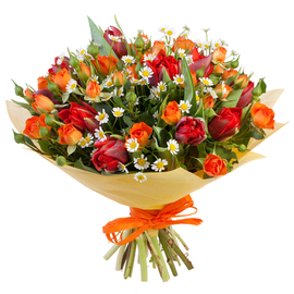 Фото букетов цветов мужчине